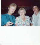 35th Reunion - Ellen Peterson, Bev French, Linda Heald at 35th in 1996