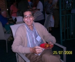 Mr. Mason- Our music teacher.   When Margie Perna visited the class of '58, 50th reunion in 2008, she took this picture