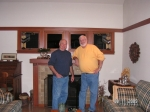 Mini-Reunion.  Dave Franklin And John David Meet at Dave's House in Bellingham, Washington For The First Time In Over 4