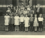 Mrs. Emmons 2nd Grade Class, Henry St Johns Elementary School, 1951.  Can you identify members of the IHS Class of 1961?