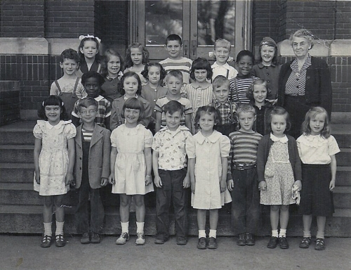 Mrs. Emmons 2nd Grade Class, Henry St. Johns 1951