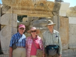 Trip To Turkey, Summer 2012.  Tom, Loulie and George at Myra, home of St Nicholas