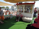 Trip To Turkey, Summer 2012.  Loulie Cruising on the Bosphorus