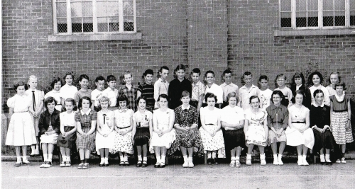 Fall Creek 6th Grade, Class of 1955