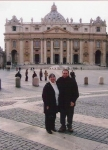 Al and Margie Perna Visit  the Vatican in 2005.