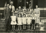 Miss Mancuso 1st Grade Class, Henry St Johns Elementary School, 1950.  Can you identify members of the IHS Class of 1961