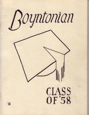 The 1958 Boyntonian Cover