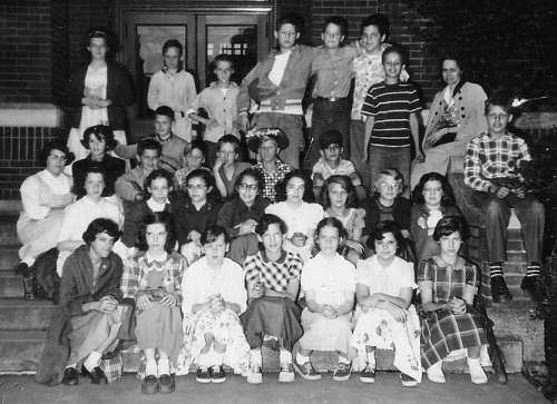 Mrs. Banford's 6th Grade Class, Henry St. John's, 1955