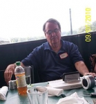 50th Reunion Planning Meeting July 9, 2010 - Bob Campbell (blinking, not sleeping, honest)