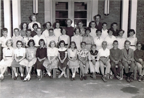 Miss Kanalley's 6th Grade Class at West Hill School, 1955
