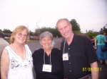 Mary Bradley, Margie James Perna, Hunt Bradley