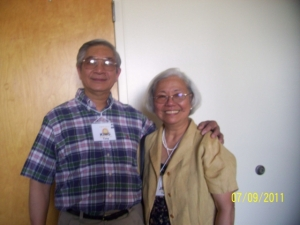 King & Jean Tang At Our 50th Reunion