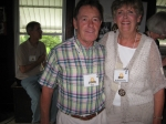 Fall Creek Reunion:  John Pete and Bev McCully Dunphy