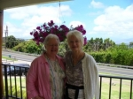 Loulie Kent & Paula Sandefur on Maui, taken in May 2013.