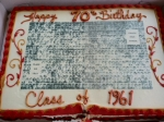 Birthday Cake, Class of 1961!