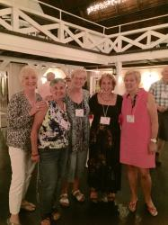 Judi Fowler Q, Margie James Perna, Sue Grove Pierce, Judy Goldfarb W, Sue Ideman H